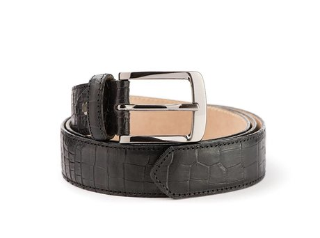 REHAB BELT CROCO BLACK
