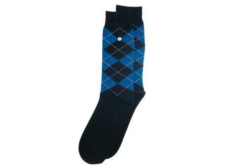 Alfredo Gonzales Wallstreet | Luxe blauwe sokken