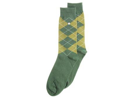 Alfredo Gonzales Wallstreet | Luxe groene sokken