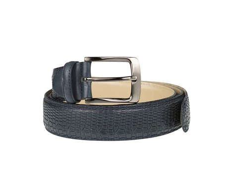 REHAB BELT CROCO DARK BLUE