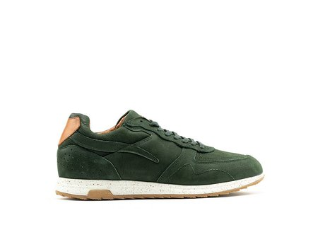 REHAB HAMMOND NUBUCK DARK GREEN