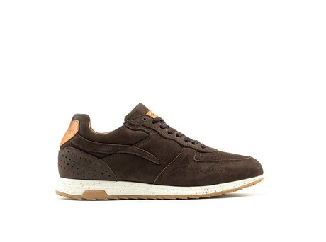 REHAB HAMMOND NUBUCK DARK BROWN