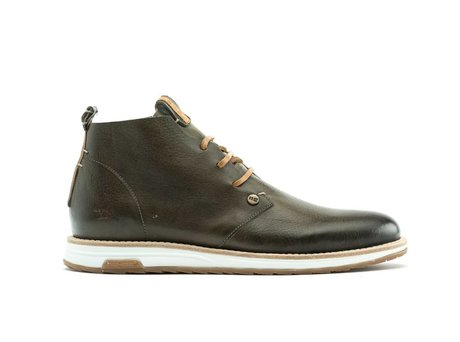 REHAB NAZAR LEATHER VINTAGE DARK GREEN