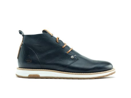 REHAB NAZAR LEATHER VINTAGE DARK BLUE