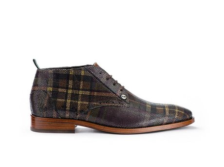 REHAB BARTOLI KILT DARK BROWN
