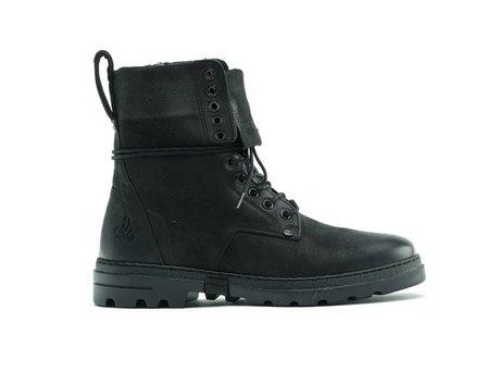 Darcey Lthr | Hoge zwarte boots
