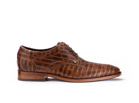 Bruine nette schoenen Brad Stripes