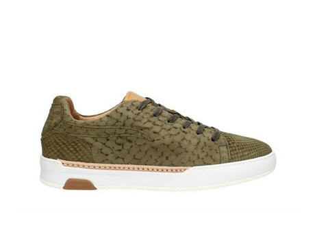 REHAB THOMAS II LIZARD NUBUCK DARK GREEN