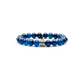 REHAB BRACELET BY SHIR AGATA NATURAL DARK BLUE