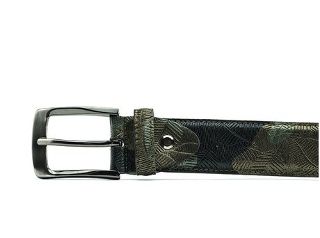 REHAB RIEM METAL FLOWER GREEN