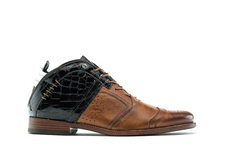 REHAB KURT II CROCO VERNIZ LL BROWN