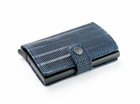REHAB CARD WALLET STRIPES INDIGO