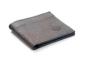 REHAB BIFOLD WALLET WALL DARK GREY