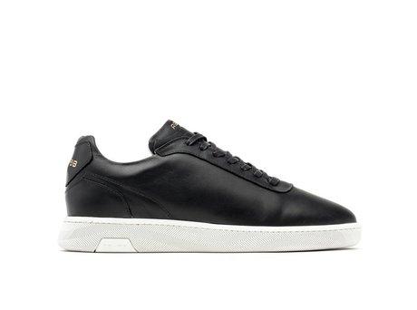 Zeta Lthr | Zwarte sneakers