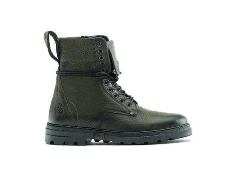 Darcey Nub Vintage   Hoge zwarte boots