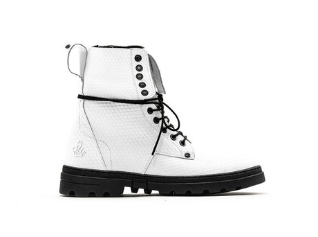 Darcey Triangle | Hoge witte boots