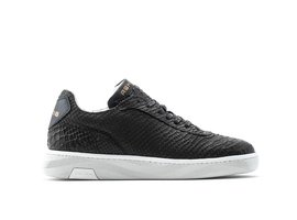 REHAB Zeta Snk | Zwarte sneakers