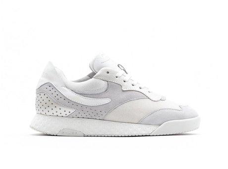 Avery Metallic | Witte sneakers