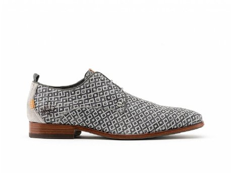 Rehab Grey Business Schoes Greg Checker