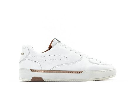 Thora Lthr | Witte sneakers