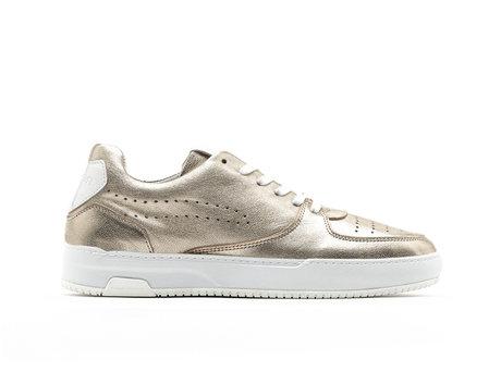 Thora Met | Gouden sneakers