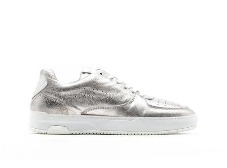 Thora Met | Zilveren sneakers