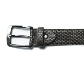 REHAB BELT WEAVE DARK GREY