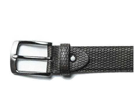 Belt Weave Dark Grey