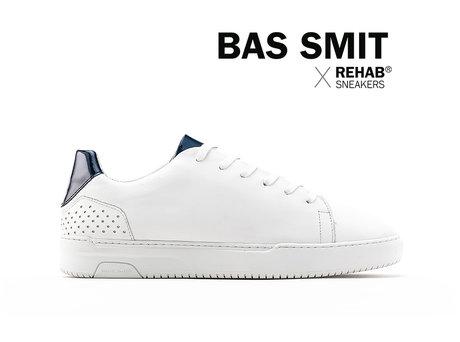 REHAB BAS SMIT WHITE - BLUE VERNIZ - PRE-ORDER