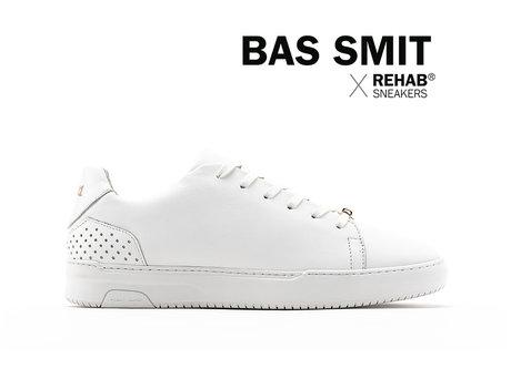 REHAB BAS SMIT WHITE - GOLD - Pre-order