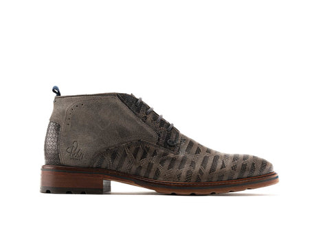 REHAB FARMACO SNAKE STRIPES DARK GREY