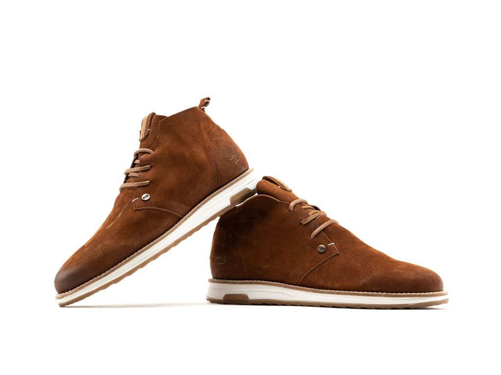 outlet store 7fef3 2cbba REHAB NAZAR NUB VINTAGE BROWN SNEAKERS SHOES MEN - REHAB Footwear Official  Online Store