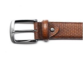 REHAB Belt Weave Brown
