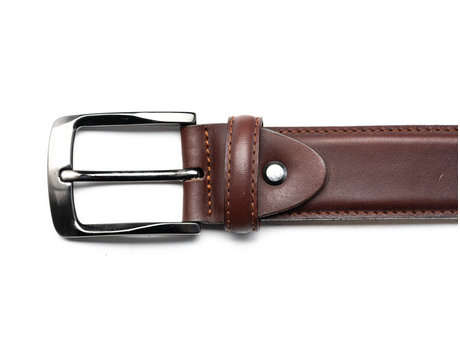 REHAB BELT BASIC LL INDIGO-DARK BROWN