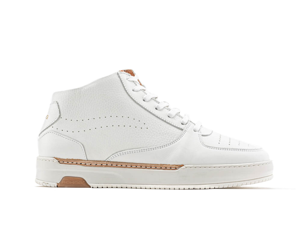 online store 936c9 a8c50 REHAB THABO MID LTHR WHITE SNEAKERS SHOES MEN - REHAB Footwear Official  Online Store