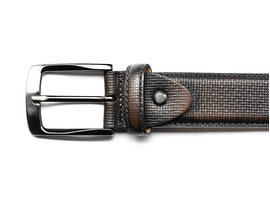 REHAB BELT BUFFALO WALL DARK GREY