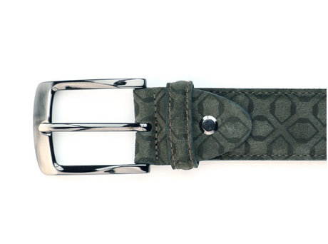 REHAB BELT ART DECO GREEN