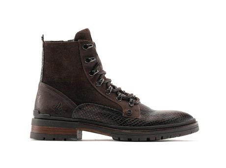 Melbourne Snk | Hoge bruine boots