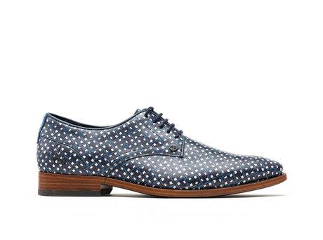 Brad Kris Kros | Donkerblauwe nette schoenen