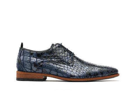 Rehab Blaue Business Schuhe Greg Crc Duo