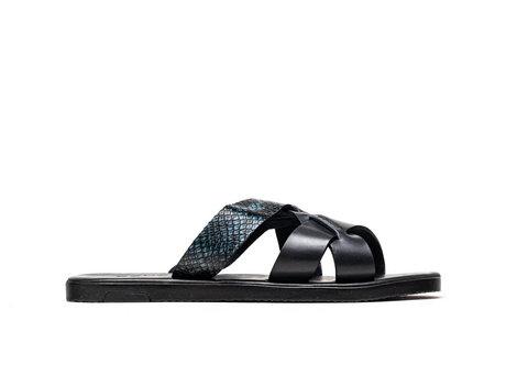 Roy Snk   Donkerblauwe sandaal