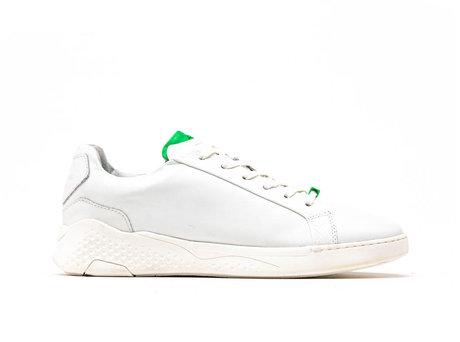 Rosco II Fluor | Wit-groene sneakers