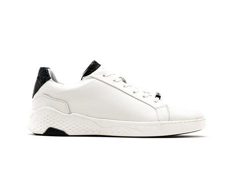 Dunkelblau Weiße Sneakers Rosco Ii Lthr Snake