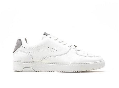 Grey White Sneakers Thabo Calf