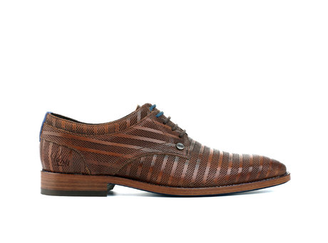 REHAB BRAD STRIPES 120 COGNAC