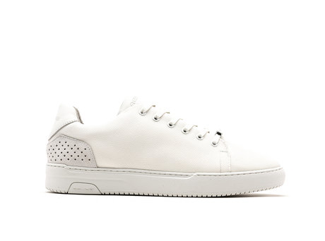 Teagan Nylon | Witte Sneakers
