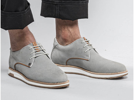REHAB NOLAN NUB GEO LIGHT GREY