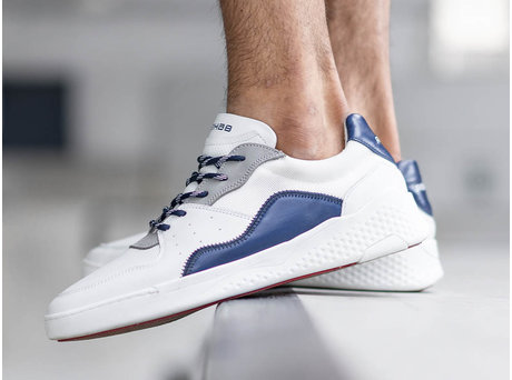 REHAB RICO BASIC WHITE-DARK BLUE