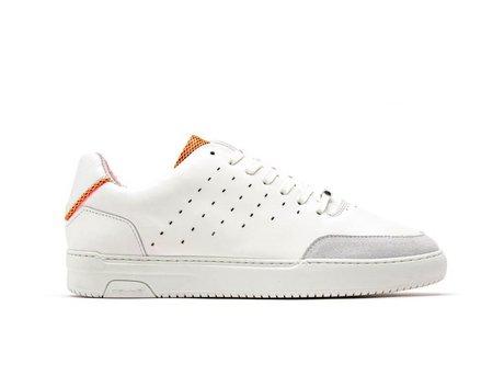 Orange Weiße Sneakers Tygo Lthr Fluor