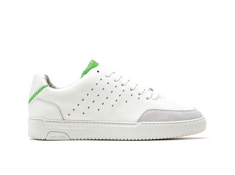 Grüne Weiße Sneakers Tygo Lthr Fluor